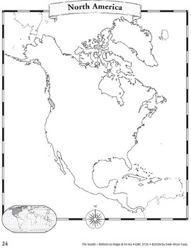 North America: Maps & Forms