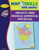 North America: Mexico and Middle America - Physical