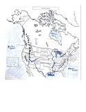 North America Physical and Political Feature Mapping Activity
