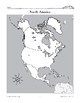 North America: Political Divisions-Countries & Cities