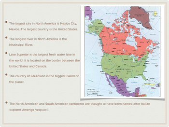 North America Power Point