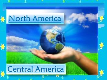 North America - United States - Canada - Mexico - Nicaragu