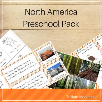 North America Preschool Pack