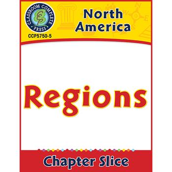 North America: Regions Gr. 5-8