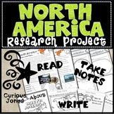 North America Research Project - Passages to Read, Take Notes, & Write