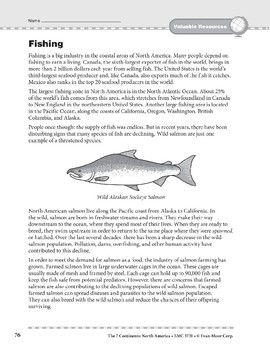 North America: Resources: Fishing