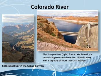 North America Rivers- Interactive PowerPoint Game