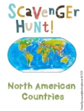 North America: Geography Scavenger Hunt