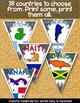 NORTH AMERICA SOUTH AMERICA CLASSROOM DECOR MAKE YOUR OWN