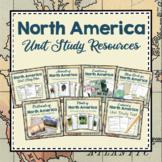 North America Unit Studies Resources Bundle