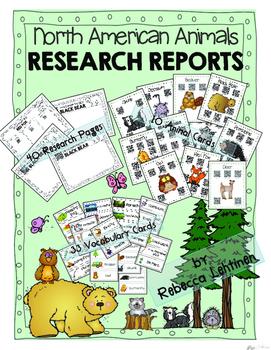 North American Animal Research {QR Codes} NO PREP