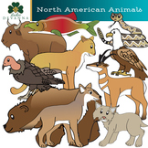 North American Animals Clip Art