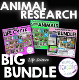 North American Animals Digital and Printable Research