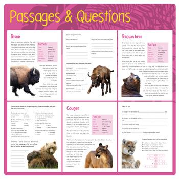 North American Animals (Puzzles & Fun Stuff)