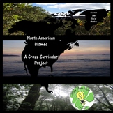 North American Biomes- Cross-curricular Project-- Science
