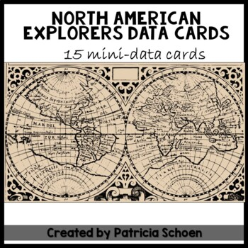 North American Explorers/Data Cards
