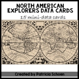 North American Explorers/Data Cards