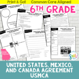 North American Free Trade Agreement (NAFTA) Reading Activi