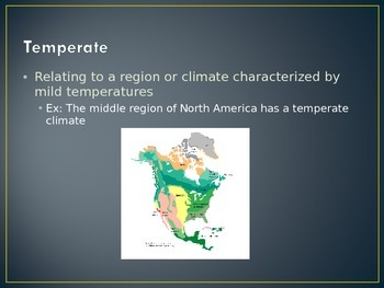 North American Land Forms PowerPoint