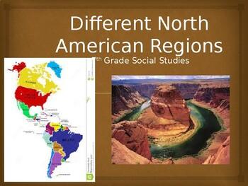 North American Regions Powerpoint