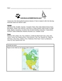North American Wildlife/Plant Research Activity