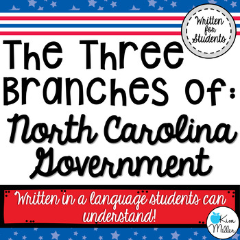 North Carolina: Three Branches of Government
