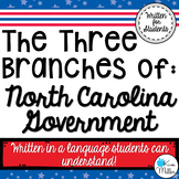 North Carolina: Three Branches of Government