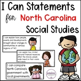 "North Carolina ""I Can"" Social Studies Posters {Fourth Grade}"