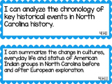 North Carolina 4th Grade Science and Social Studies I Can Statements
