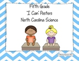 "North Carolina ""I Can"" Science Posters {Fifth Grade}"