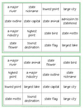 North Carolina Bingo