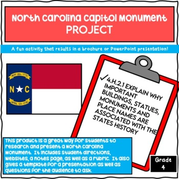 North Carolina Capitol Monument Project 4.H.2