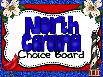 North Carolina Choice Board