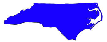North Carolina Clipart State Outline