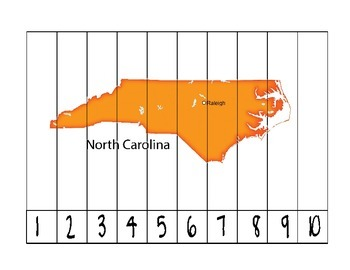 North Carolina Counting Puzzle