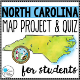 North Carolina County Map Project & Quiz