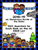 North Carolina EBOB 2018-2019 Bundle of Questions