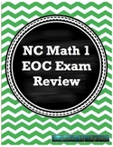 North Carolina EOC Math 1 Test review