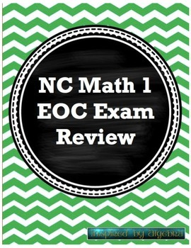 North Carolina EOC Math 1 Test review by Inspired by ...