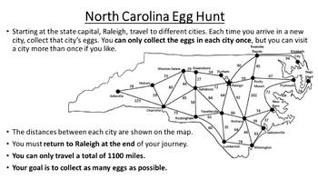 North Carolina Easter Math Activity