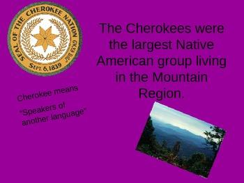 North Carolina Essential Standards 4th Grade Native American Project
