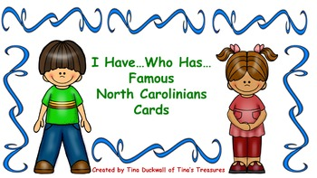 North Carolina Famous People I Have Who Has Cards
