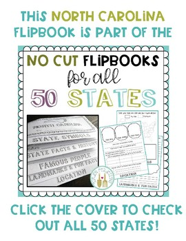 North Carolina Flip Book