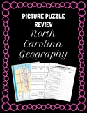 North Carolina Geography Picture Puzzle Test Review, Stati