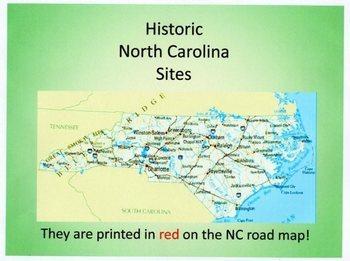North Carolina: Historic Sites