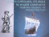 North Carolina History: Major Wars and Conflicts