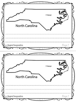North Carolina | State Study| 56 Pages for Differentiated Learning + Bonus Pages