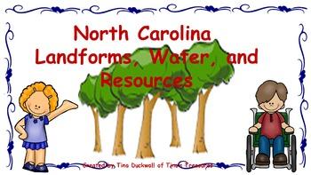 North Carolina Land, Water, and Resources