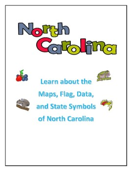 North Carolina Maps, Flag, Data with Geography Assessment