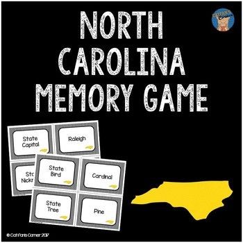 North Carolina Memory Game